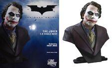 Batman DARK KNIGHT JOKER 1/2 SCALE LIMITED  Mixed-Media BUST ~ Heath Ledger  NEW