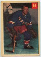 1954-55 Parkhurst Hockey #67 Leo Reise Jr. VG-EX Condition (2020-13)