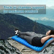 Air Bed Self Inflating Mattress Foldable Inflatable Camping Hiking Mat 12cmThick