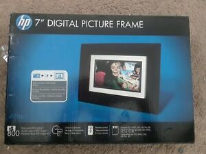"HP DF730P1 7"" Digital Picture Frame-Open box"