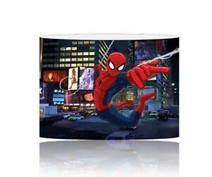 (055) SPIDERMAN LIGHTSHADE / CEILING LIGHT SHADE KIDS FREE P+P