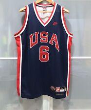 NIKE 1984 USA BASKETBALL PATRICK EWING RETRO JERSEY NBA KNICKS DREAM TEAM L