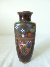 Ancien vase en emaux cloisonné Chine