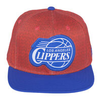 Adidas Los Angeles Clippers Christmas On-Court Camo Snapback Hat Red/Royal