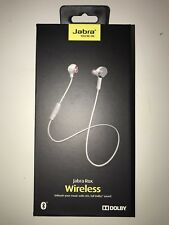 JABRA ROX BLUETOOTH WIRELESS HEADSET - WHITE / Free Express Post