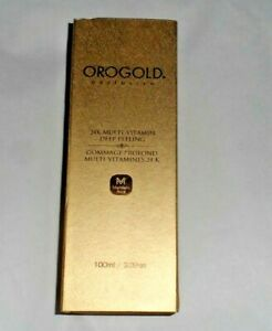 Orogold Exclusive Gold 24K Multi-Vitamin Deep Peeling  100ml /3.38 oz.