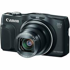 Canon PowerShot SX700 HS 16.1MP CMOS Digital Camera Black   HD 1080p Video