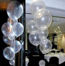 "10X Transparent Latex Balloons Birthday Wedding Party  Baby Shower Decor 10"""