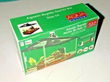 Dollhouse Miniature Aquatic Reptile Tank Box Pet Turtle Shop Store 1:12