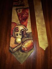"Eagles Wings University of South Carolina Silk Neck Tie Gamecocks 58"" New"