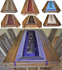 Edler Design Tischläufer Tischdecke Tisch-Dekoration Indien Orient Samt Top****