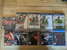 All Metal Gear Solid Games - x10 Games - Collection Job Lot Bulk Rare