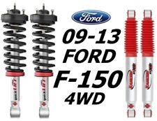 Rancho Front Quicklift Struts & RS9000XL Rear Shocks For 09-13 Ford F-150 4WD