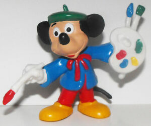 Mickey Mouse Artist 2 inch Plastic Figure DMMF242