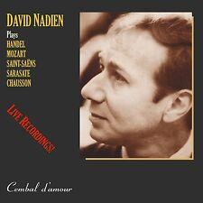 The Legendary Violinist David Nadien in Live Performances