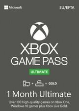 Xbox Game Pass Ultimate + Live Gold 1 Month XBOX ONE - INSTANT 24/7 & GLOBAL