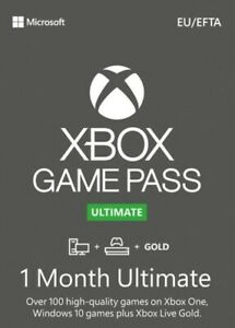 CLEARANCE Xbox Game Pass Ultimate + Live GOLD 1 Month (14 Days x 2) INSTANT 24/7