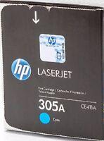 NEW Genuine HP Laserjet 305A CE411A Original Toner Cartridge  Cyan