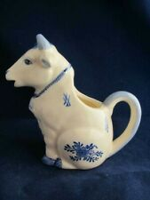 """Original Vintage Porcelain Cow Creamer- Made in Taiwan- 5.0"""" tall"""