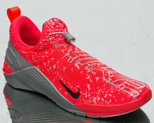 Nike React Metcon Men's Bright Crimson Grey Fog Cross Training Gym Shoes Sneaker