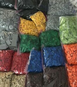 LEGO 100+ PIECES FROM BULK! SORTED LOT RANDOM SELECTION! CHOICE OF COLOR & QTY