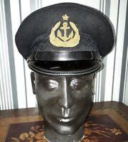 Original Navas uniform Officer service cap Hat Badge Vintage Sea №2