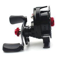 1X Fishing Reel 6+1 Ball Bearings  Gear Ratio Smooth Left Right Fishing Reel