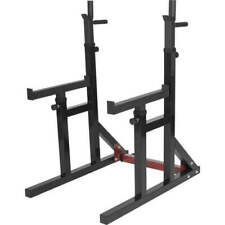 Adjustable Squat Stand Squat Rack Power Station Bench Press Rack Barbell Rack UK