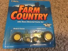 Ertl Farm Country Historical Tractor Set, Model D Tractor & 630LP Tractor
