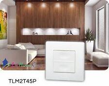 Télécommande 2 canaux gamme power, TLM2T45P Yokis 5454419