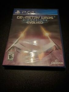 Playstation 4 Geometry Wars 3 Dimensions Evolved    New Sealed