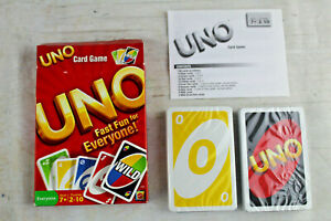 Uno Classic 108 Playing Cards Game Family Fun Game Sealed Playing Card Open Box