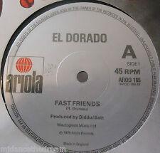 """EL DORADO - Fast Friends ~ 12"""" Single"""