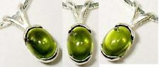 18thC Antique 1¼ct Peridot Medieval Sorcery Vulture Engraved Amulet Control Wind