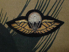 Malaysia Special Forces MSSR Parachutist Jump wings Badge airborne B&T 1484