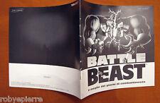 vendo MANUALE cartaceo originale BATTLE BEAST 7th LEVEL 7 RICHARDSON TX 75081