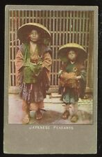 Ethnic JAPAN Japanese Peasants PPC