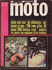 LA MOTO  1 KAWASAKI 500 Mach 3 René GILLET 750 BULTACO Sherpa 250 PATON 1970 (2)