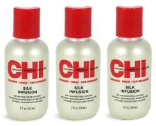 3 x CHI Silk Infusion Silk Reconstructing Complex 2 oz / 59 mL 3 Pack