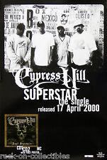 Cypress Hill 2000 Superstar Original Uk Promo Poster