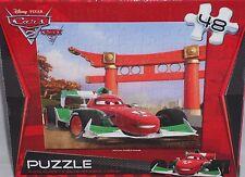 """Disney Pixar Cars 2 Puzzle  48Ct  10.375"""" x 9.125"""""""