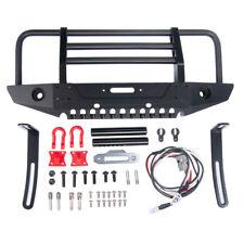 Alloy Metall Front Bumper Frontstoßstange für 1/10 RC TRAXXAS TRX4 SCX10 AX90046