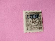 STAMPS - TIMBRE - POSTZEGELS - DUITSLAND SCHLESWIG 1920  NR. 25 *  (D169)