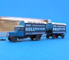 Roskopf H0 1058 MAN Hängerzug Josef Holl Neu-Ulm Oldtimer LKW Nostalgie HO 1:87