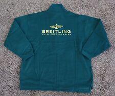 Breitling FLEECE jacket PULLOVER X-LARGE racing bentley green NEW in BAG XL