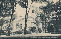 ASHFIELD MA – Congregational Church - 1945