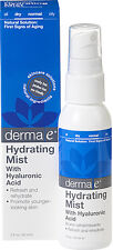 Hydrating Mist With Hyaluronic Acid, Derma E, 2 oz