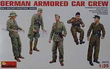 MINIART 35072 WWII German Armored Car Crew Figuren in 1:35