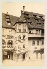 Nuremberg - Maison Renaissance Vintage albumen print  Tirage albuminé  11x16