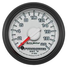 Auto Meter Boost/Pyrometer Gauge 8545; Dodge Factory Match 2000°F 2-1/16""